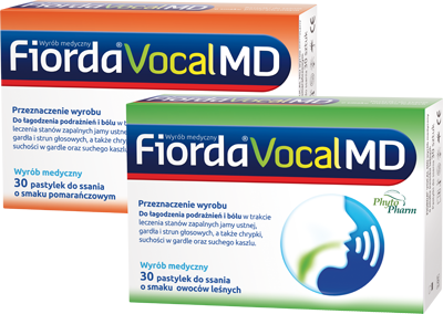 Fiorda Vocal MD - package